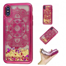 Luurinetti Apple iPhone X/Xs TPU-suoja Glitter 9