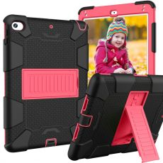 LN ruggeroitu kuori tuella iPad mini 2019/1/2/3 black/rose