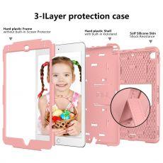 LN ruggeroitu kuori tuella iPad mini 2019/1/2/3 pink/pink