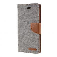 Goospery Canvas-laukku iPhone 12 Pro Max grey