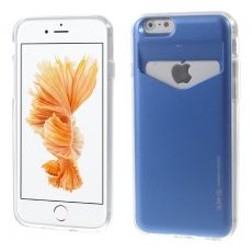 Mercury iPhone 6/6s Plus TPU-suoja korttipaikalla blue