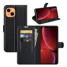 LN Flip Wallet iPhone 13 Mini black