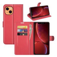 LN Flip Wallet iPhone 13 Mini red