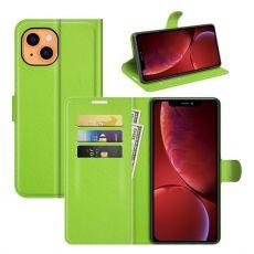 LN Flip Wallet iPhone 13 Mini green