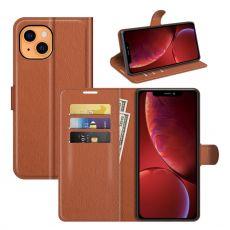 LN Flip Wallet iPhone 13 Mini brown