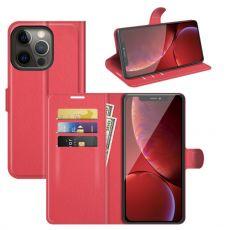 LN Flip Wallet iPhone 13 Pro red