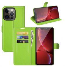 LN Flip Wallet iPhone 13 Pro green