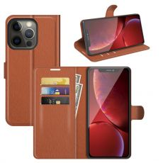 LN Flip Wallet iPhone 13 Pro brown