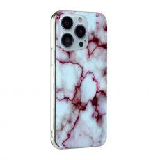 LN TPU-suoja iPhone 13 Pro Max Marmori 18