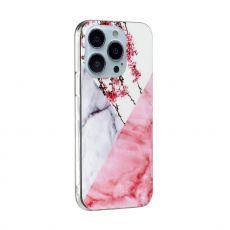 LN TPU-suoja iPhone 13 Pro Max Marmori 12