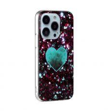 LN TPU-suoja iPhone 13 Pro Max Marmori 10