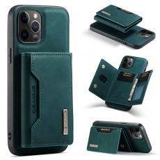 DG. MING suojakuori + lompakko iPhone 13 Pro green