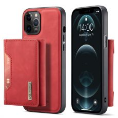 DG. MING suojakuori + lompakko iPhone 13 Pro red