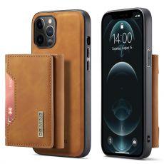 DG. MING suojakuori + lompakko iPhone 13 Pro brown