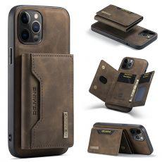 DG. MING suojakuori + lompakko iPhone 13 Pro coffee