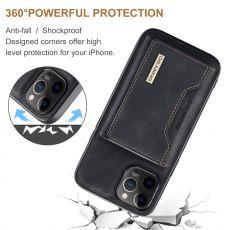 DG. MING suojakuori + lompakko iPhone 13 Mini black