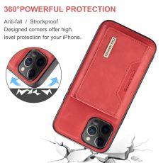 DG. MING suojakuori + lompakko iPhone 13 Mini red