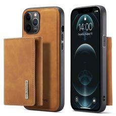 DG. MING suojakuori + lompakko iPhone 13 Pro Max brown