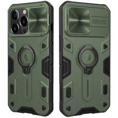 Nillkin CamShield Armor iPhone 13 Pro Max green