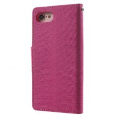 Goospery iPhone 7/8/SE Canvas-kotelo Rose