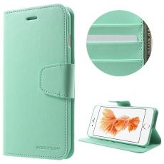 Goospery iPhone 7/8 Plus Flip Wallet cyan