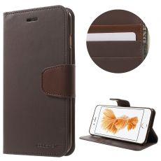 Goospery iPhone 7/8 Plus Flip Wallet brown