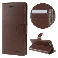 Goospery Apple iPhone 7/8 Flip Wallet brown