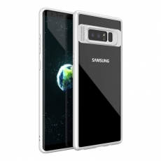 iPaky Samsung Galaxy Note 8 Clear Cover white