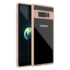 iPaky Samsung Galaxy Note 8 Clear Cover pink