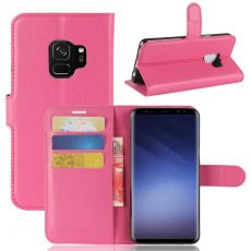 Luurinetti Galaxy S9 Flip Wallet rose