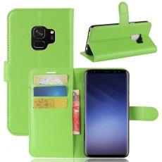 Luurinetti Galaxy S9 Flip Wallet green