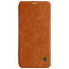 Nillkin Qin Flip Cover Galaxy A6 2018 brown
