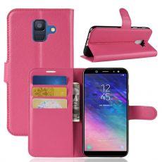Luurinetti Flip Wallet Galaxy A6 2018 rose