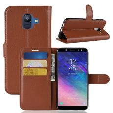 Luurinetti Flip Wallet Galaxy A6 2018 brown