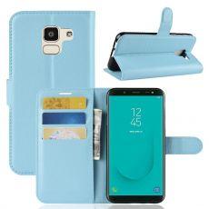 Luurinetti Flip Wallet Galaxy J6 2018 blue