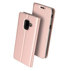 Dux Ducis Business-kotelo Galaxy J6+ 2018 rose