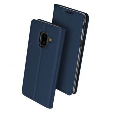 Dux Ducis Business-kotelo Galaxy J6+ 2018 blue