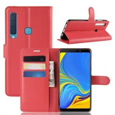 Luurinetti Flip Wallet Galaxy A9 2018 red