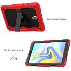 LN suojakuori+kantohihna Galaxy Tab A 10.5 2018 red