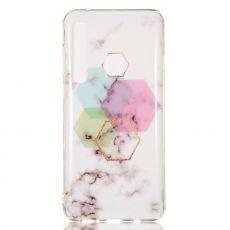 Luurinetti TPU-suoja Galaxy A9 2018 Marble #3