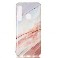 Luurinetti TPU-suoja Galaxy A9 2018 Marble #7