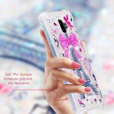 Luurinetti TPU-suoja Galaxy J6+ 2018 Glitter #13