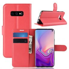 Luurinetti Flip Wallet Galaxy S10e red