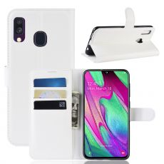 Luurinetti Flip Wallet Galaxy A40 white