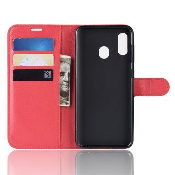 Luurinetti Flip Wallet Galaxy A40 red