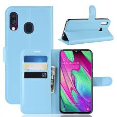 Luurinetti Flip Wallet Galaxy A40 blue