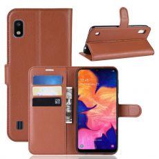 Luurinetti Flip Wallet Galaxy A10 Brown