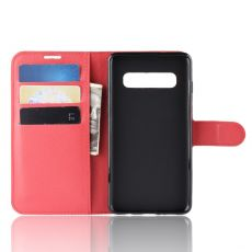 LN Flip Wallet Galaxy S10 5G red