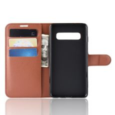 LN Flip Wallet Galaxy S10 5G brown