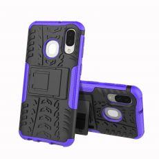 LN kuori tuella Galaxy A40 purple
